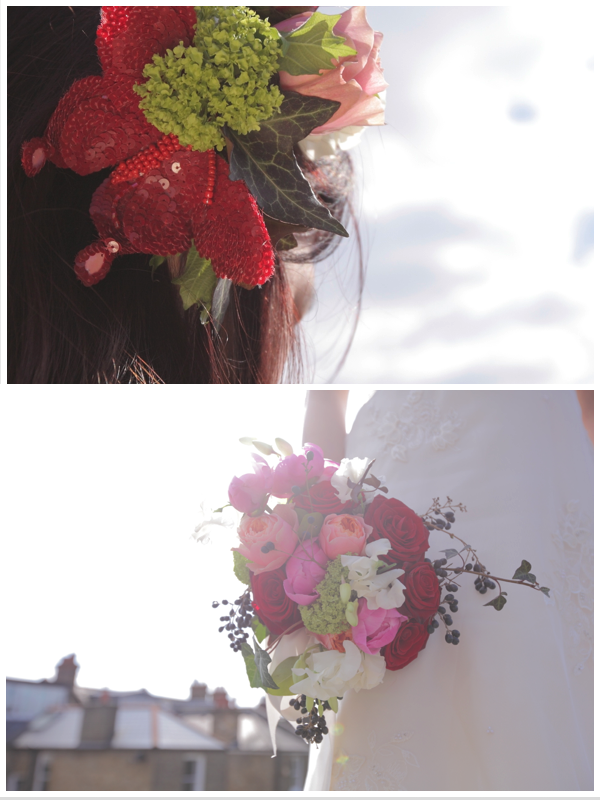 Whimsical flowers…. snow white meets the city » Ivy Pip & Rose
